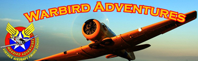Click here to go to the Warbird Adventures website.